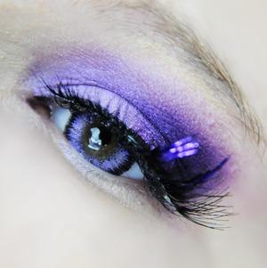 Vassen Super Glamour Violet lenses