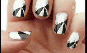 Foil Nail Wraps [Glitterface Tutorial]