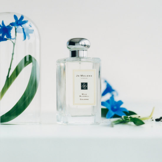 Alternate product image for Wild Bluebell Cologne  shown with the description.