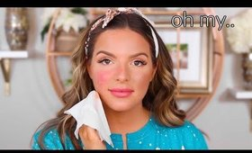 this new foundation was a disaster.. FIRST IMPRESSION REVIEW