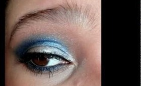 Dallas Cowboys Inspired Makeup
