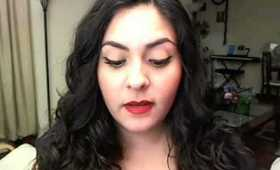 Tutorial: Chic & Glam Matte Red Lips - Great Valentine's Day look!