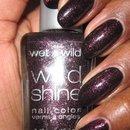 Black/Purple glitter