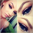 Brown cat eye 😊☺️