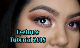 Eyebrow Tutorial 2018 | Velvet702