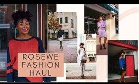 HAUL: Rosewe Fall Fashion