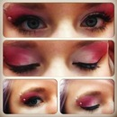 EyeShadow Pink and White