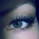my first eye close up