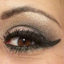 Smoky Eye with Winged Eye Liner