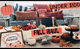 HUGE Affordable Fall Decor Haul!