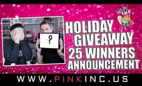 The Long Overdue, Highly Anticipated, 25 Winners, Holiday Giveaway Announcement!! | Tanya Feifel