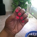 Matte finish nails