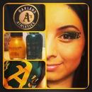 Oakland A's make up & nail s