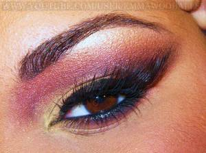 Christmas 2011 - Cranberry & Gold