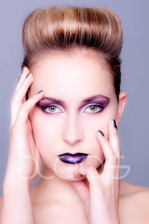 #make up by myself #photography by Markus Thiel