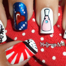 Nail Art Inspired: what I love it makes me what I am by Madjennsy