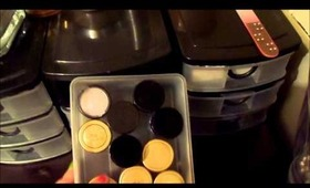 Makeup collection video