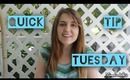 Quick Tip Tuesday: Tame Hair Frizz!