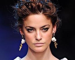 Dolce & Gabbana Hair, Milan Fashion Week S/S 2012