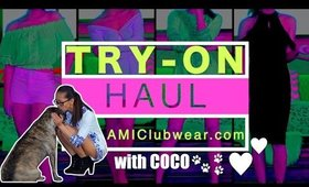 Try-on Haul feat AMIclubwear | Spring Lookbook | AirahMorenaTV