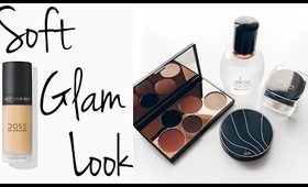 Easy soft Glam look