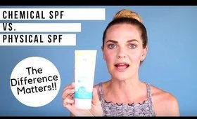 Sunscreen Q&A w/an Aesthetician: Chemical SPF vs. Physical SPF