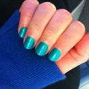 China Glaze - Turned up Turquoise