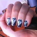 suit Nd tie easy a quick nail art design