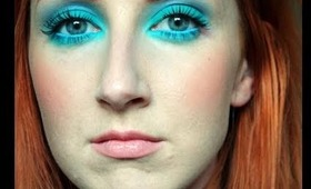 Colour Blocking Trend, Aqua Eyeshadow and New Hair!!