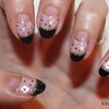 Japanese Style New Year's Eve Nails