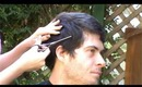 Cutting my brothers hair / Short Male Haircut how-to