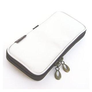 Hakuhodo Po810Sw Enamel brush pouch - Shell White
