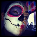 Day of the dead (candy skull)