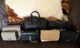 My Designer Handbag Collection 2019| Chanel, Gucci, Givenchy, YSL, Louis Vuitton.