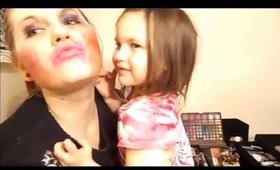 Baby sisters do my makeup