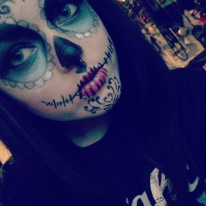 My first sugar skull was impressed alot of work to be perfect but with practice im sure it would have been :)