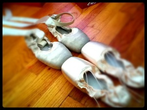Just got my new pointe shoes