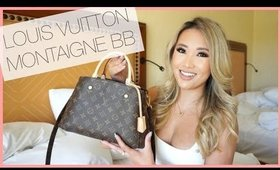 WHAT'S IN MY NEW BAG! LOUIS VUITTON MONTAIGNE BB REVEAL - INITIAL REVIEW | hollyannaeree