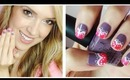 Valentine Lace Heart Nail Tutorial!