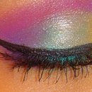 Colorful look.
