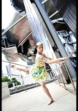 My most recent photo-shoot in downtown Chicago!❤️