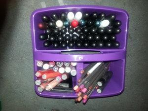 lipstick, lipglass, and lipliners (:
