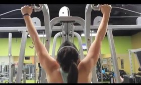 Upper Body Workout + Pre-Workout