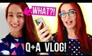 WHAT ARE THESE?! WTF Sqiggly Brows & Art School! || Jess Bunty Q&A + VLOG!