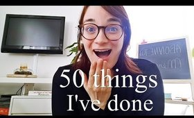 50 things I have done during the last decade 2010 - 2020