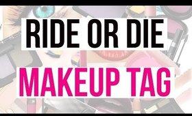 Ride Or Die Makeup Tag 👄 *Greek*