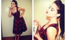 Retro / Pin-Up / Rockabilly Inspired Makeup, Hair and Outfit