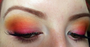 Trying my hand at a sunset inspired Eye