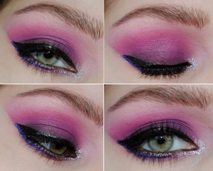 If I lived in a futuristic society, I would wear ridiculous makeup like this everyday <3