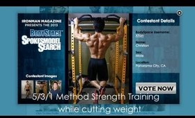 5/3/1 Method Strength Training - While cutting weight (week 2)
